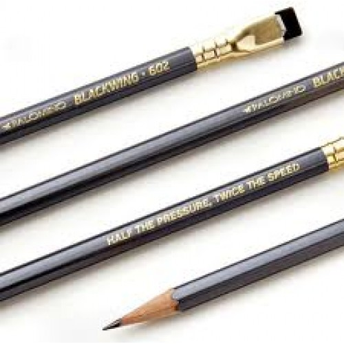 Blackwing 602 writing pencil