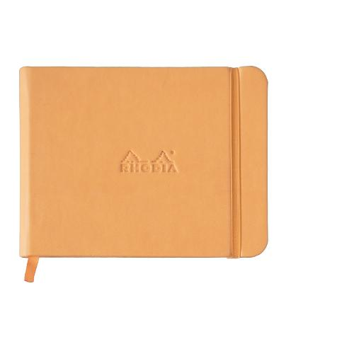 Rhodia hard cover notebook A5 liggend