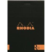 """Rhodia Le """"R"""" blocnote extrafijn A4 (lijn, blanco)"""