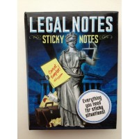 "Sticky notes ""Legal Notes"""