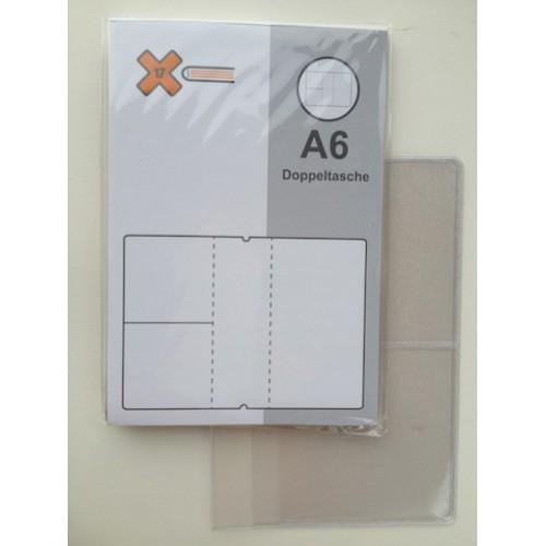 X17 accessoire medium/A6 etui met vakjes