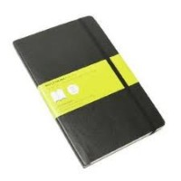 Moleskine notebook soft cover large (ca A5)